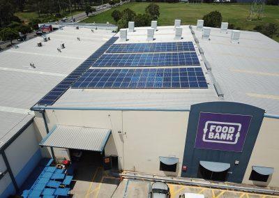 58.5kW Solar System @ FoodBank QLD Morningside