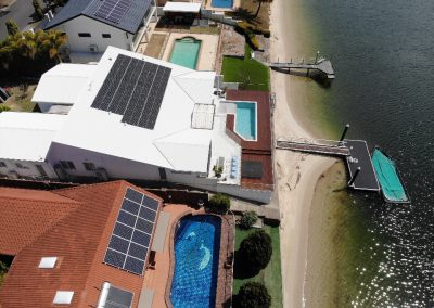 REC Solar Panel Installation @ Mermaid Waters